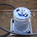Einbau eines 3S 1000 D auf der verdrehsicheren Trageplatte des Systems Berliner Kappe®